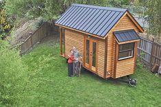 Means To Minimalism - Tammy Strobel's tiny house.