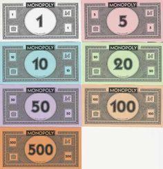 Para Del Imprimir En Monopolio CasaOrlando Billetes Monopoly cFK1JT3ul