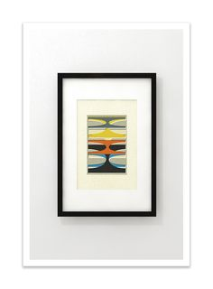 ARCH  - Mid Century Print, Giclée Print, Abstract Modern by Thedor on Etsy https://www.etsy.com/listing/99389252/arch-mid-century-print-giclee-print
