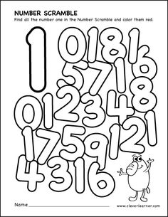Number scramble activity worksheets for preschool parents preschool teaching numbers paper plate garden craft kids Teaching Numbers, Numbers Preschool, Preschool Learning, Toddler Preschool, Number Worksheets, Kindergarten Worksheets, In Kindergarten, Preschool Activities, Petite Section
