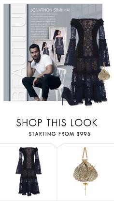 """""""Jonathon Simkhai F/W 17"""" by ollie-and-me ❤ liked on Polyvore featuring Jonathan Simkhai, Epoque and offshoulderdress"""