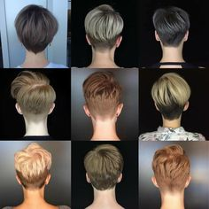 Today we have the most stylish 86 Cute Short Pixie Haircuts. We claim that you have never seen such elegant and eye-catching short hairstyles before. Pixie haircut, of course, offers a lot of options for the hair of the ladies'… Continue Reading → Short Hair Cuts For Women, Short Hairstyles For Women, Hairstyles Haircuts, Pixie Cut Hairstyles, Cropped Hairstyles, Undercut Hairstyles Women, Fashion Hairstyles, Blonde Hairstyles, Funky Hairstyles