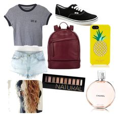"""""""I got bored..."""" by alisoncoughlin ❤ liked on Polyvore featuring Vans, Want Les Essentiels de la Vie, Kate Spade and Forever 21"""