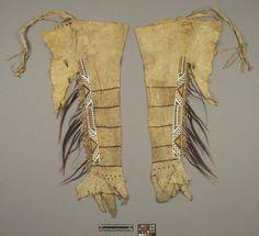 leggings, probably Pawnee. AMNH