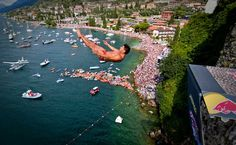 Jorge Ferzuli of Mexico, Red Bull cliff diving world series. Photo via Romina Amato  fuuuuuuuuuuuuck