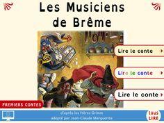 Les Musiciens de Brême (d'après les frères Grimm, illustré par Oskar Herrfurth), Tous Lire (08/05/2015)