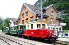 Swiss Railways, Electric Locomotive, Regional, Transportation, Switzerland, Iron