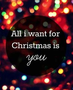 Awesome baby!!! And you are all I want for christmas!!!!