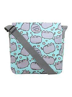 Pusheen Hearts Messenger Bag,