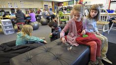 At first glance, Shayna Hicks' second-grade class at Mountain View Elementary School in Corvallis looked a little chaotic: Future School, Mountain View, Second Grade, Elementary Schools, Student, College Students, 2nd Grades, Primary School