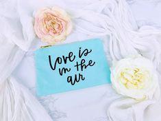 Bride Makeup Bag, Teal Bag, Bridal Shower Gift, Bridesmaid, Maid of Honor, Love, Cosmetic Bag, Bridal Gift, Gift for Her, Toiletry Bag, Bag Bridal Shower Gifts, Bridal Gifts, Bridesmaid Proposal Gifts, Bride Makeup, Toiletry Bag, Maid Of Honor, Cosmetic Bag, Gifts For Her, Teal
