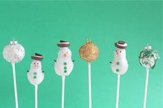 Holiday Cake Pops