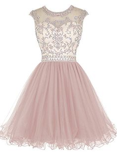 ALAGIRLS Short Beading Homecoming Dress Tulle Prom Dress ... https://www.amazon.com/dp/B018DTR1F6/ref=cm_sw_r_pi_dp_x_Wi75zb890V7EW
