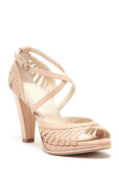 Adrienne Vittadini Arthur Peep Toe Heel Sandal...very cute