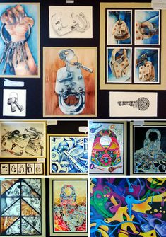 These CIE AS Level Art & Design Coursework and examination projects were produced by Syed Hammad Ali, a high school student from Pakistan.