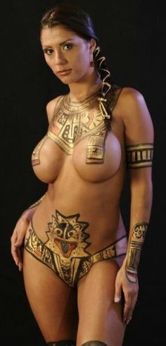 body Sexy paint egyptian