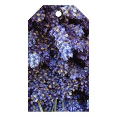 #flower - #Lavender Gift Tags