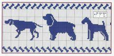 Cross Stitch Baby, Cross Stitch Animals, Cross Stitch Charts, Cross Stitch Patterns, Filet Crochet, Crochet Borders, Knitting Charts, Knitting Patterns, Crochet Patterns