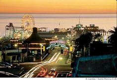 I definitely want to go to Santa Monica, California and ride that Ferris wheel.  This would be a wonderful memory to get to the end of historic route 66.