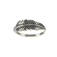 Beautiful Feather Sterling silver ring Sterling Silver Rings, Silver Jewelry, Leaf Ring, Handmade Silver, Rings For Men, Feather, Pendants, Bracelets, Earrings