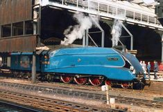 All Aboard the Fastest Steam Trains in Locomotive History! Flying Scotsman, Diesel Punk, Speed King, National Railway Museum, Standard Gauge, Old Trains, British Rail, Train Engines, Steam Engine
