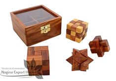 3d Puzzles, Puzzles For Kids, Wooden Puzzles, Wooden Storage Boxes, Wooden Boxes, Christmas Gifts For Adults, Brain Teaser Games, Best Valentine Gift, Challenge Games