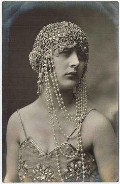 Nice vintage headdress