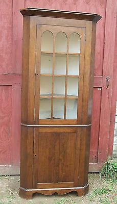 Glazed corner cupboard Antique painted doors. | Antique and second ...