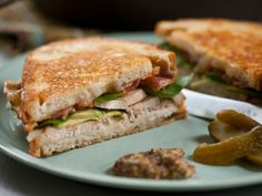 Roast Turkey, Avocado and Bacon Sandwich