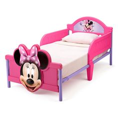 Toddler Bedding Set Minnie Mouse Bow Tique W Daisy Duck