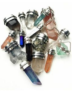 Yasmin Sewell's Beach in the East Pop Up Preview - Jill Urwin crystal necklaces