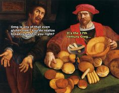66 Times People Put Some Humor Into Classic Art - Funny Gallery Renaissance Memes, Medieval Memes, Medieval Reactions, Funny Art, The Funny, 9gag Funny, Art History Memes, Funny History, Classic Memes