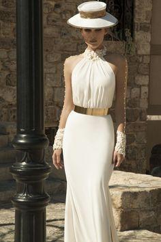 Galia Lahav Wedding Dresses with Sexy Open Back Designs. To see more: www.modwedding.co... #wedding #weddings #wedding_dress