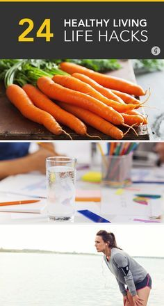 24 Healthy Living Hacks From the People Who Know Best #health #wellness #hacks