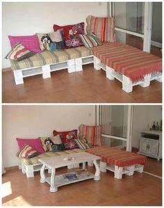 pallet sofa' in 1001 Pallets ideas ! | Scoop.it