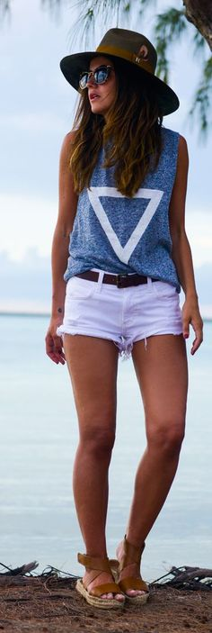 Casual Vacation Outfit by Lovely Pepa