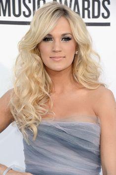 Carrie Underwood Long Curls