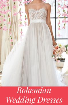 Bohemian Wedding Dresses & Ideas