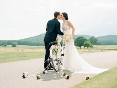 This Southern wedding inspiration features the cutest getaway bicycle! Wedding Show, Our Wedding, Wedding Venues, Wedding Exits, Best Gift Baskets, Southern Wedding Inspiration, Bridal Musings, Event Design, Wedding Planner