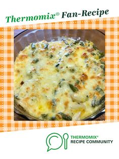 Recipe Chicken and veggie potato bake by thermifyme, learn to make this recipe easily in your kitchen machine and discover other Thermomix recipes in Main dishes - meat. Baked Potato Recipes, Meat Recipes, Baking Recipes, Broccoli Dishes, Veggie Stock, How To Cook Potatoes, Recipe Community, Food N, Chicken