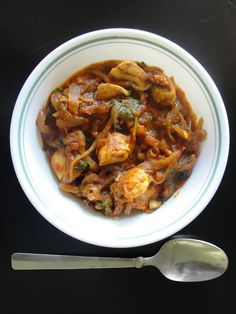Krithi's Kitchen: Chicken Curry for Chapathi | Easy Indian Chicken Recipes