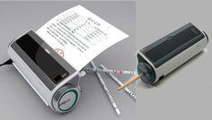 Muchos ya ni utilizamos un lápiz para escribir. Con el gran avance tecnológico, la escritura a mano a pasado realmente a un segundo plano, pero muy seguramente utilizarías más lápices si tu mismo los pudieras fabricar. Un nuevo concepto de un dispositivo o gadget permite convertir el papel ya utilizado en lápices. http://gabatek.com/2012/08/28/tecnologia/nuevo-invento-fabricar-lapices-papel-utilizado-innovacion/