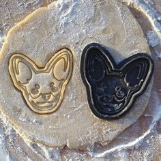 Chihuahua cookie cutter. Dog cookie cutter. Mexico by BakeAndCut