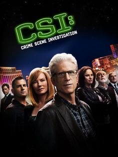 CSI!! This is the show that started my obsession with forensics and everything gory!!