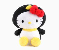 "Hello Kitty 5"" Mascot Plush: Penguin"