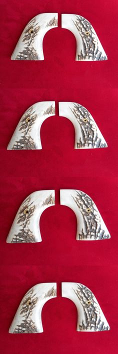 Vintage Gun Parts 71141: European Red Stag Gun Grips For 2001 Ruger Xrn-3Red Single Six Revolver BUY IT NOW ONLY: $225.0