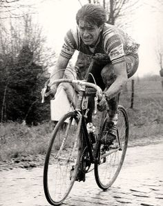 Paul Sherwen, Paris-Roubaix, 1983 by Paris-Roubaix, via Flickr