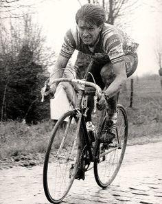 Paul Sherwen, Paris-Roubaix, 1983 by Paris-Roubaix, via Flickr