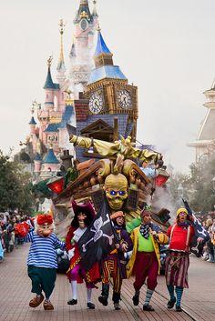 Parc Disneyland, Disneyland Resort Paris, Marne la Vallée, France