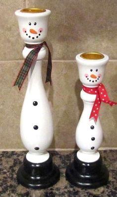 Adorable Snowman Candle CT Shops